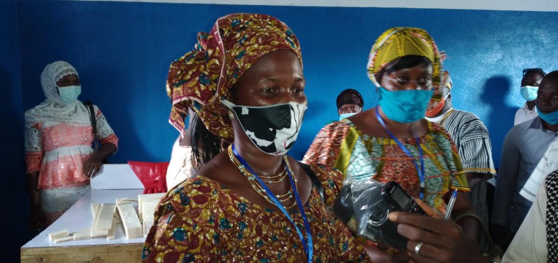 Catherine Manemou habitante de Séngbédou.
