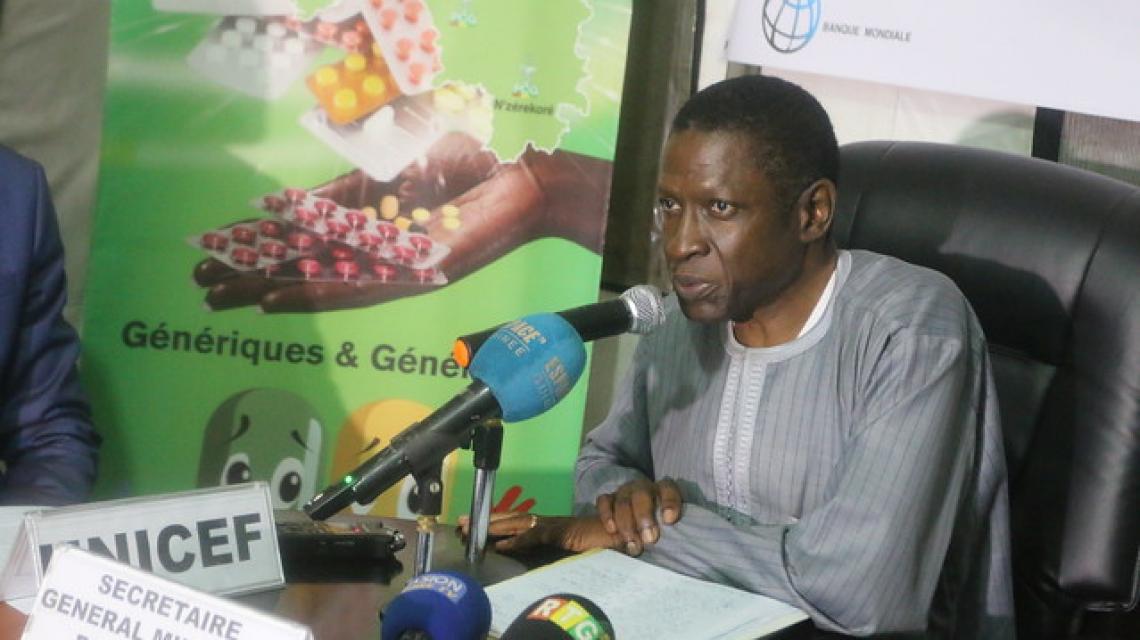L'UNICEF approvisionne 106 centres de santé en Guinée