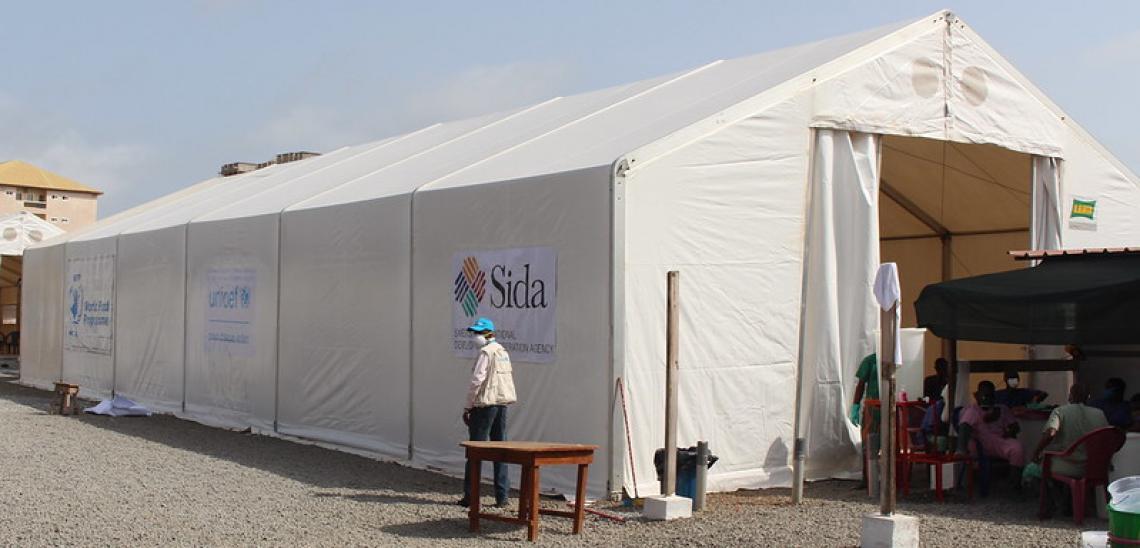 """Le centre de Nongo renforcé grâce au Fonds Suédois """"Sida"""""""
