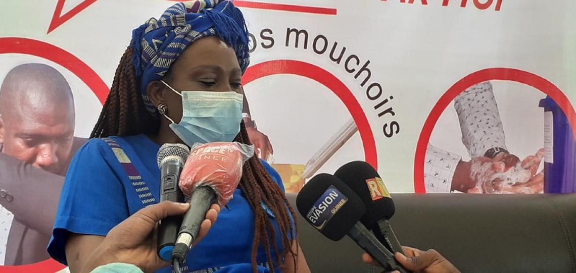 ChristineNaréKaboré, Représentante adjointe programme de l'UNICEF en Guinée