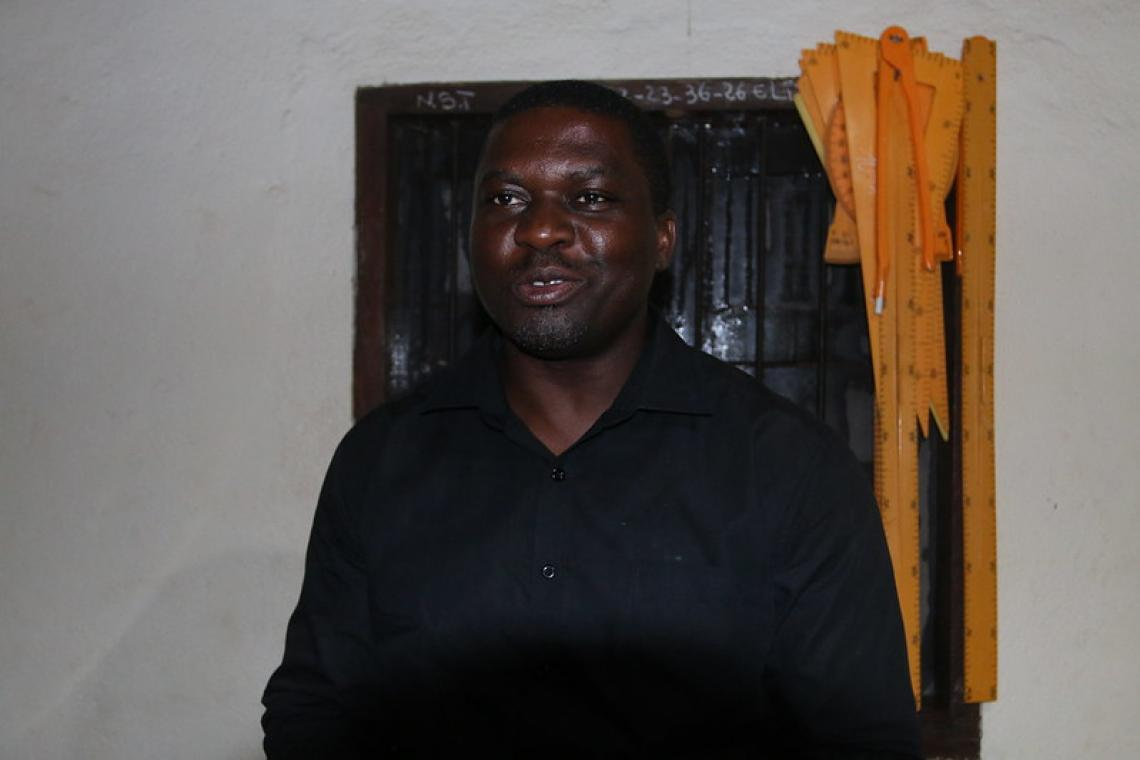 """Père Étienne Mborong Directeur du centre """"Foi et joie"""""""