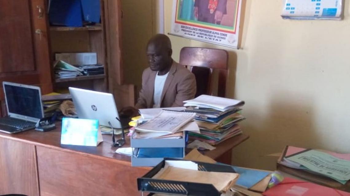 Cécé Charles Haba, Secrétaire général de la commune de Kobéla