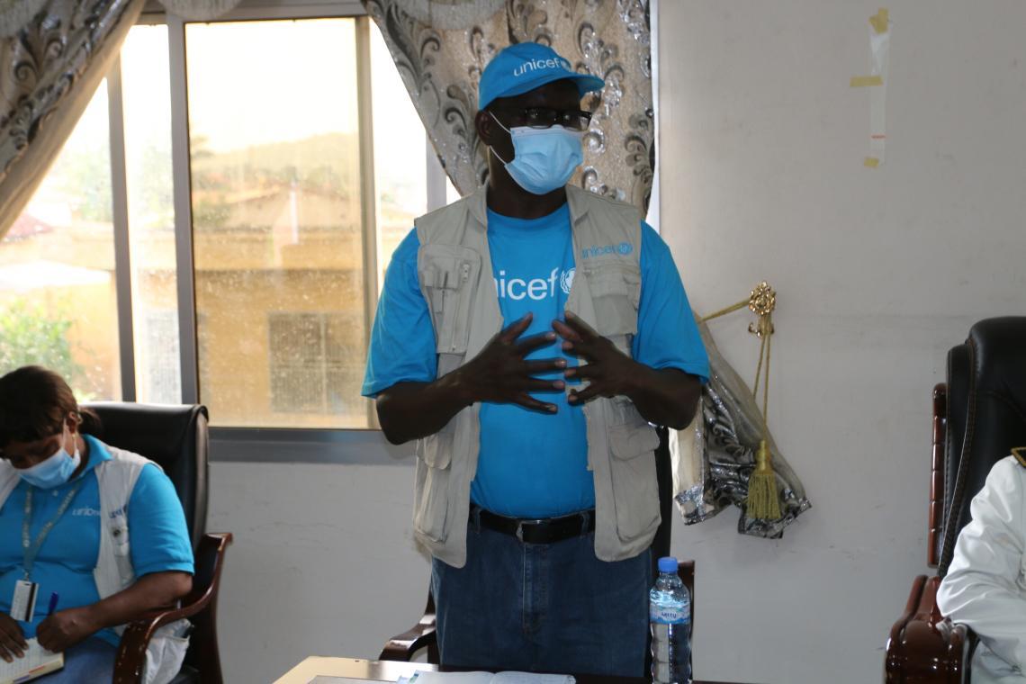 Dr Pierre Ngom, Représentant Résident de l'UNICEF