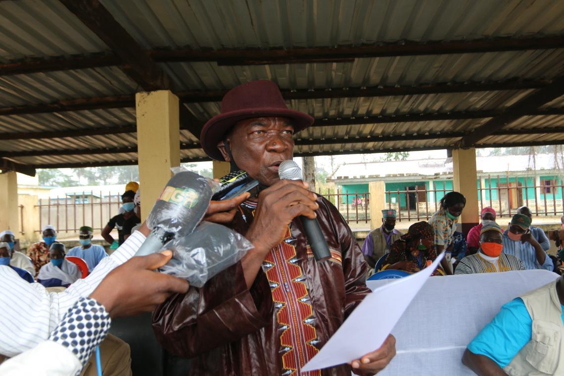 Jean Smith Sandy, Directeur de cabinet du gouvernorat de N'zérékoré
