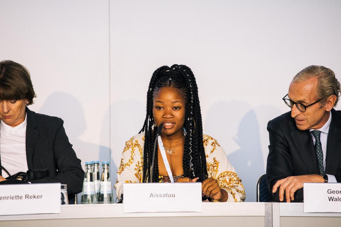 Aissatou Fofana, parlement des enfants de la Guinée