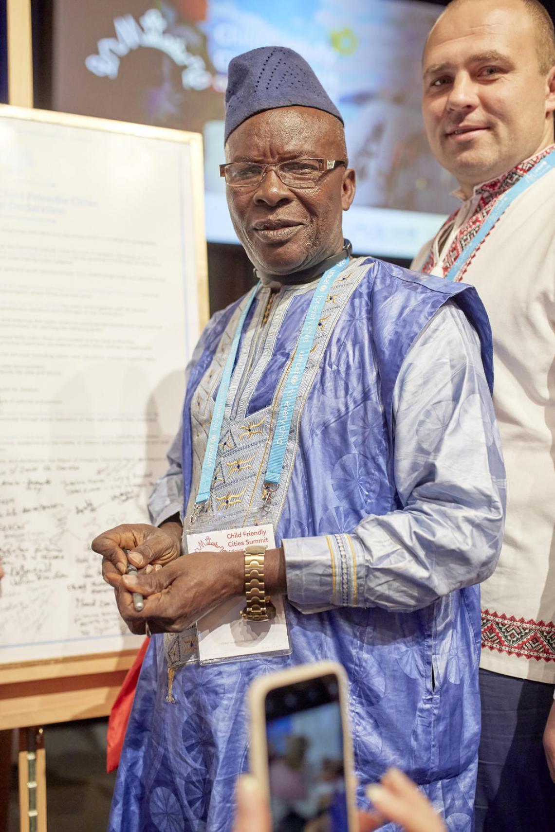 Aboubacar Bangoura, Maire de Koba