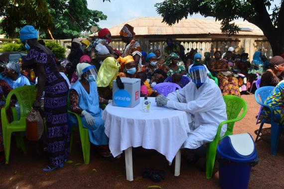 Lancement de la campagne de vaccination contre la polio avec l'appui de  l'UNICEF   UNICEF