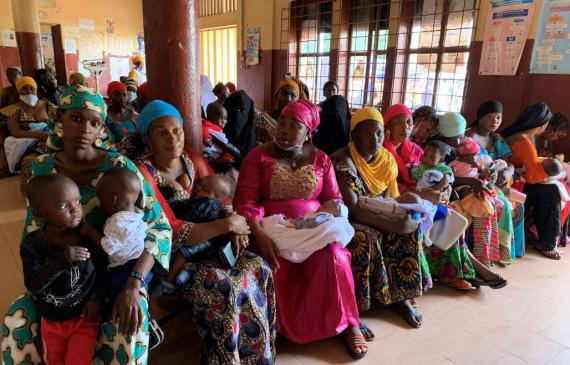 Lancement de la campagne de vaccination contre la polio avec l'appui de  l'UNICEF | UNICEF