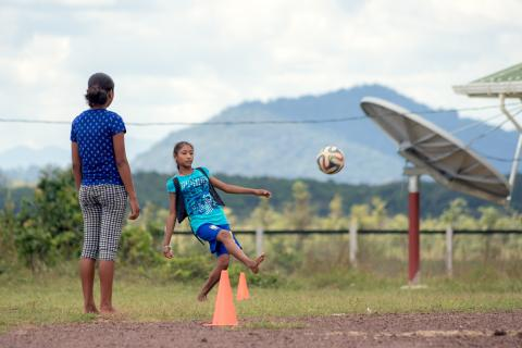 Girls Play, UNICEF, UNICEF Guyana and Suriname, For Every Child