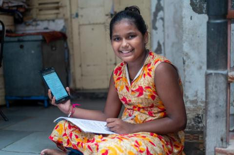 Online schools are the new normal for Ishika from Assam