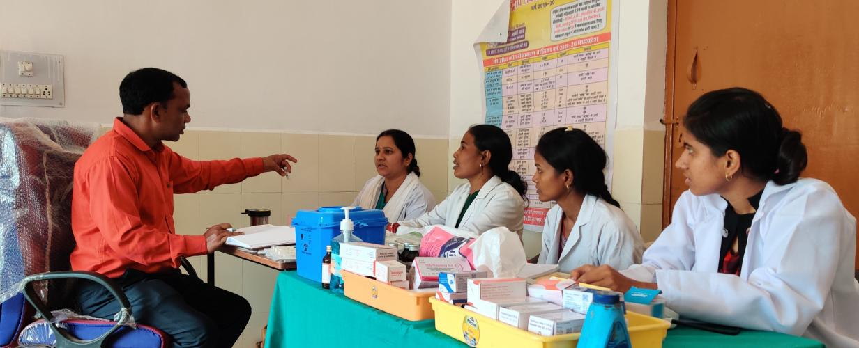 Effective Supportive Supervision in Immunization Madhya Pradesh