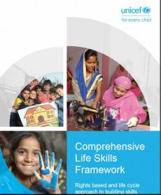 Cover page of Comprehensive life skills framework report.