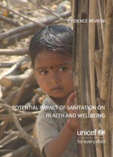 Cover report of Potential impact of sanitation report