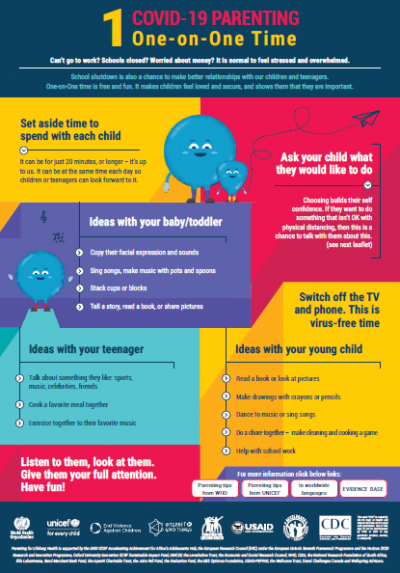Parenting tips infographic