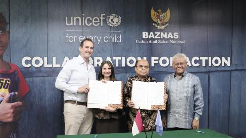 Baznas and UNICEF