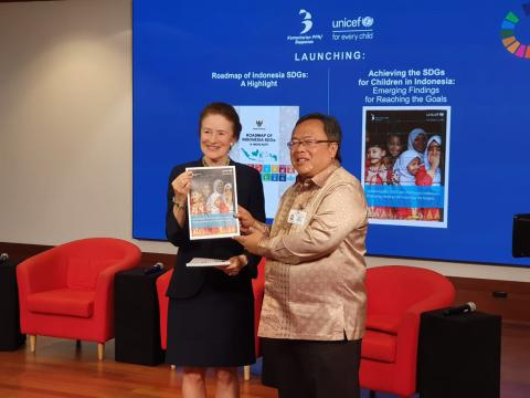 Launching Indonesia's Roadmap to the SDGs