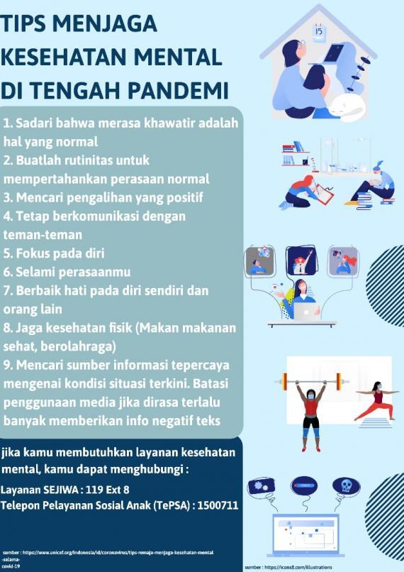 Materi Kie Komunikasi Informasi Edukasi Untuk Remaja Terkait Kesehatan Mental Unicef Indonesia
