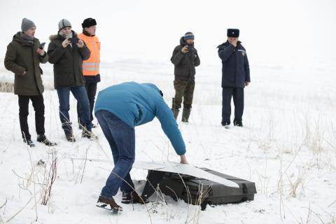 The Government of Kazakhstan and UNICEF launched a joint initiative for testing unmanned aircraft systems (UAS/also known as drones) for emergency preparedness and response
