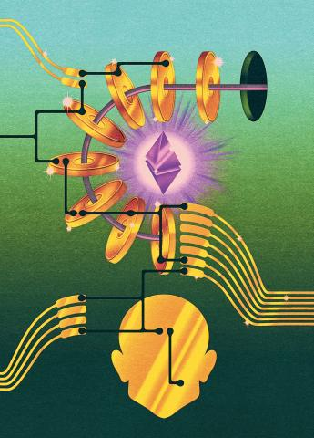 The Prophets of Cryptocurrency Survey the Boom and Bust illustration