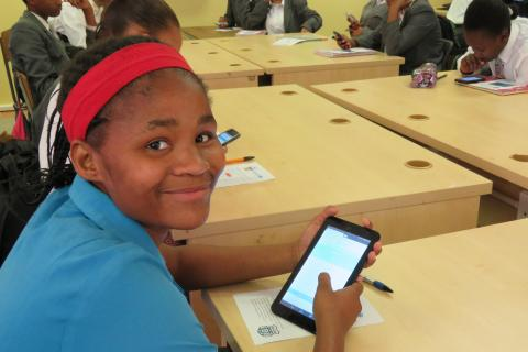 Digital learning platforms for children in Namibia