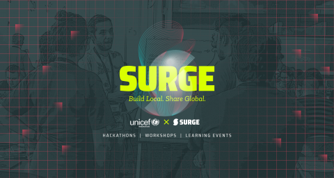 SURGE branding for website