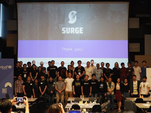 SURGE BKK participants after a successful weekend.