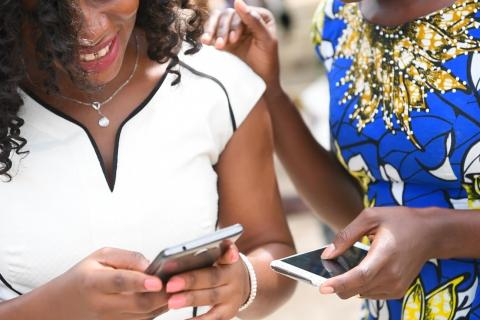 Using U-Report, a SMS ans social media based open source platform UNICEF worked with the Government of Côte d'Ivoire and MTN to increase the effectiveness of the campaign improve transparency and accountability by paying health workers with mobile money.