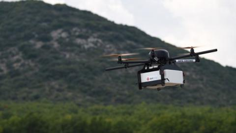 Drones testing to fly