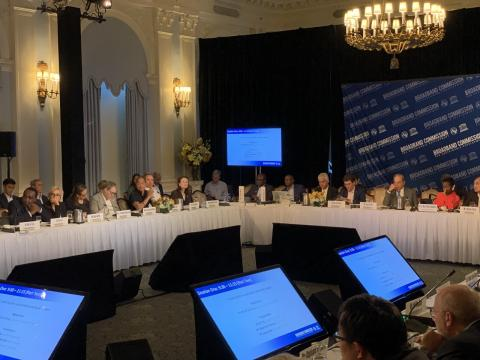 Ed Fore at the Broadband Commission High Level Event in New York for UNGA