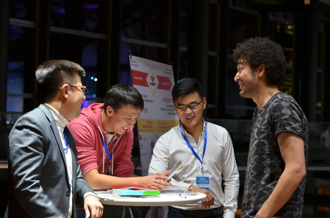 Participants at Astana Innovations Challenge