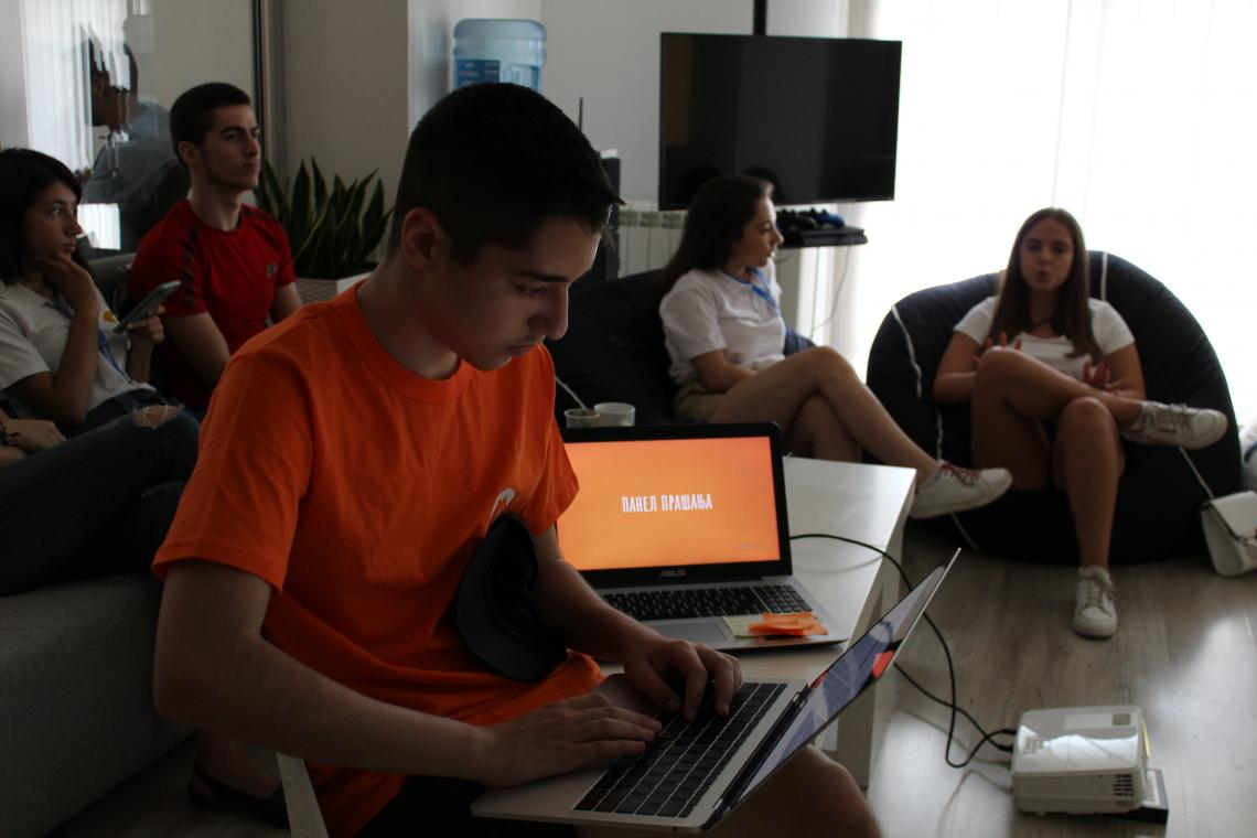 Team AndroMeta held a testing event with young people at Haselt