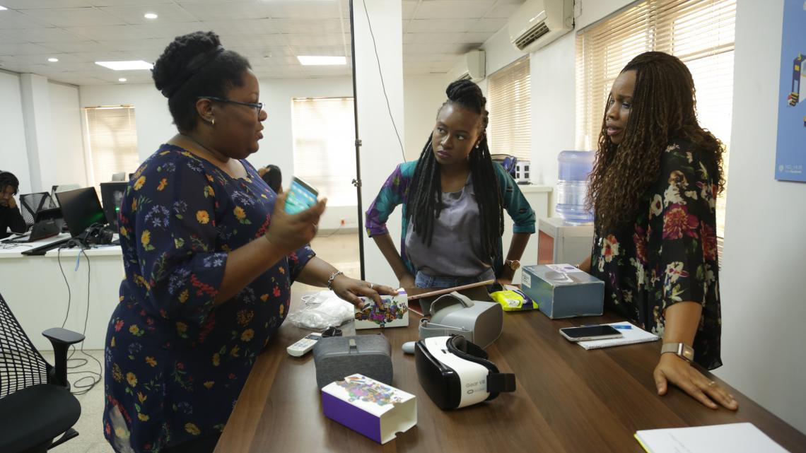 At the Imisi 3D creation lab, Judith Okonkwo explains how she plans to bring virtual reality to classrooms in Nigeria.