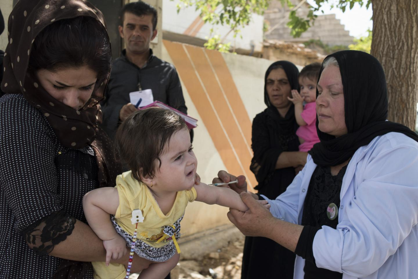 UNICEF vaccination programme