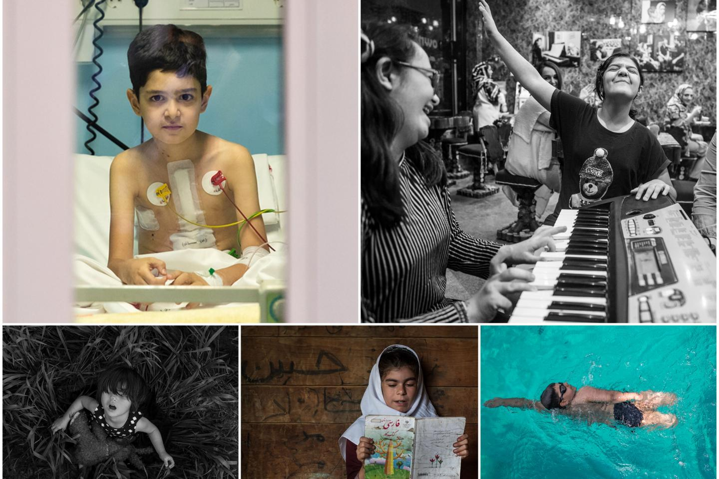 Winners of the Ministry of Culture and Islamic Guidance – UNICEF Iran photo contest on children are announced
