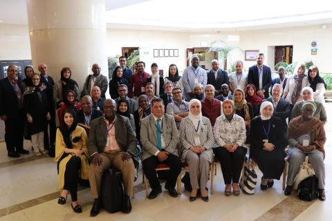 Group photo_MENA Health and Nutrition Network Meeting