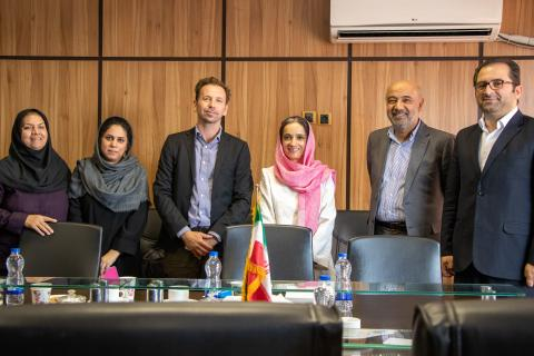 UNICEF Iran Representative meets the Deputy Social Welfare of the Ministry of Cooperatives, Labour and Social Welfare