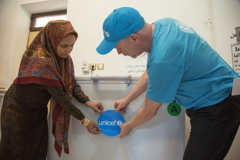 UNICEF Staff in mission to flood hit areas