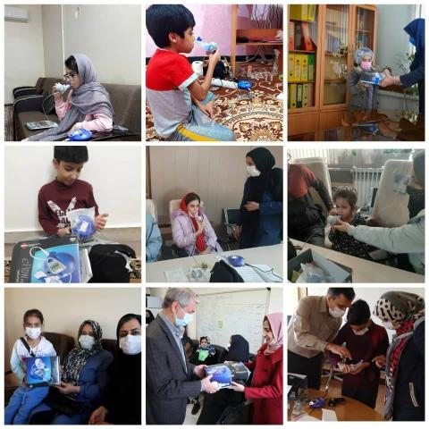 UNICEF procured nebulizers for children suffering from Cystic Fibrosis in Iran