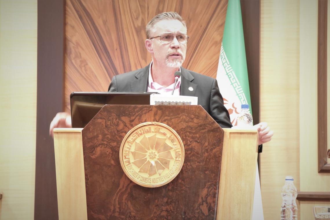 Will Parks UNICEF Representative in Iran