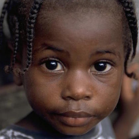 Photograph of a young boy in Jamaica