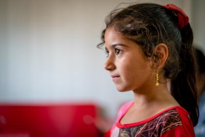 A young girl in a Makani Centre