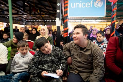 UNICEF Jordan raises awareness of the rights of children with disabilities to access education in Zarqa