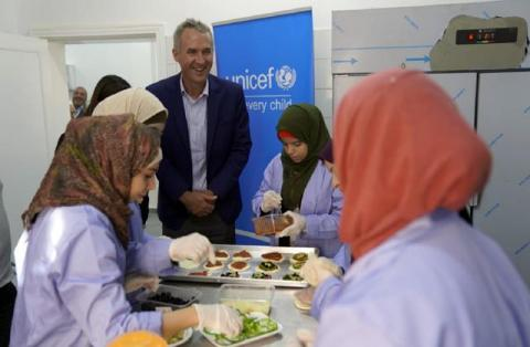 UNICEF and Ministry of Labour engage private sector to promote youth economic engagement in Ma'an