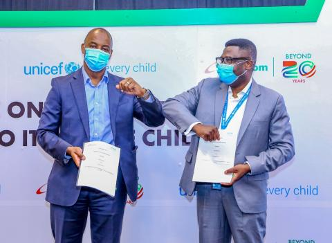 UNICEF and Safaricom partnership