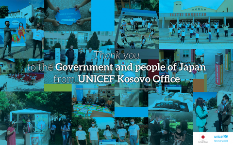 Thank you to the Government and people of Japan
