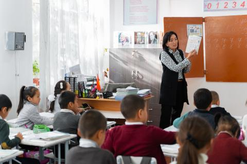 "Sosnovka School is one of the pilot schools of the ""Learning Better Together"" programme"