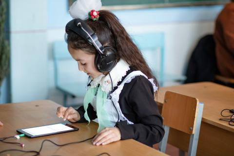 Electronic assessment for school children