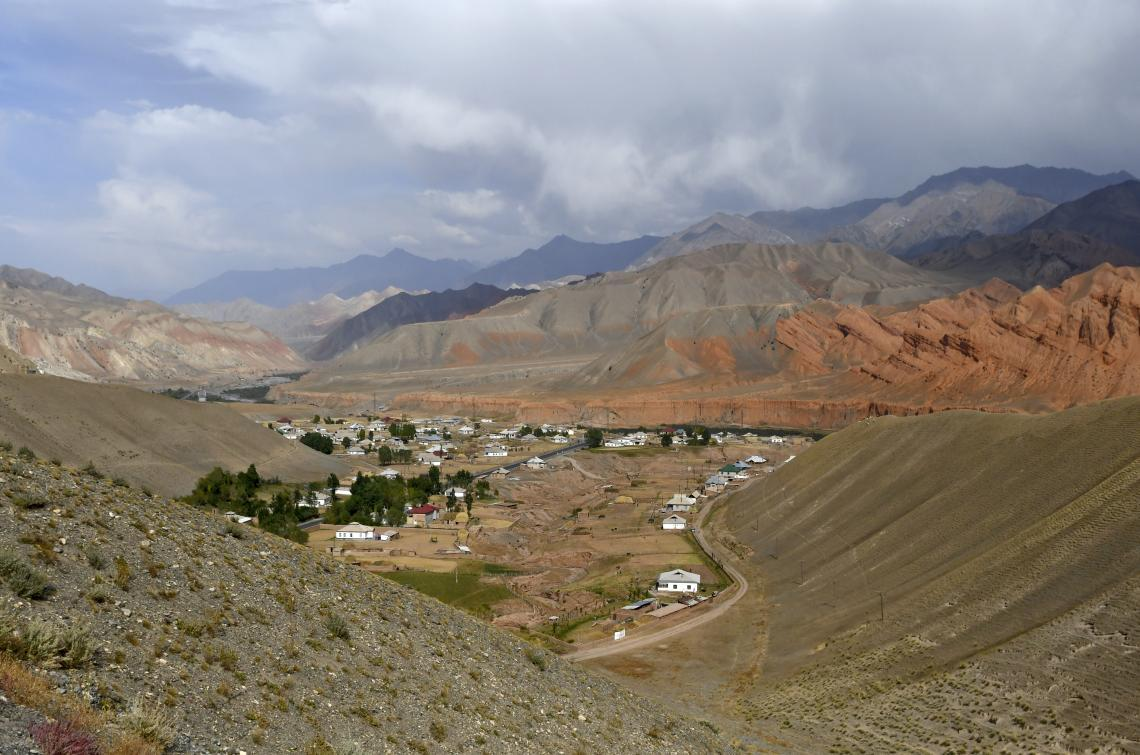 A view of Daroot Korgon village