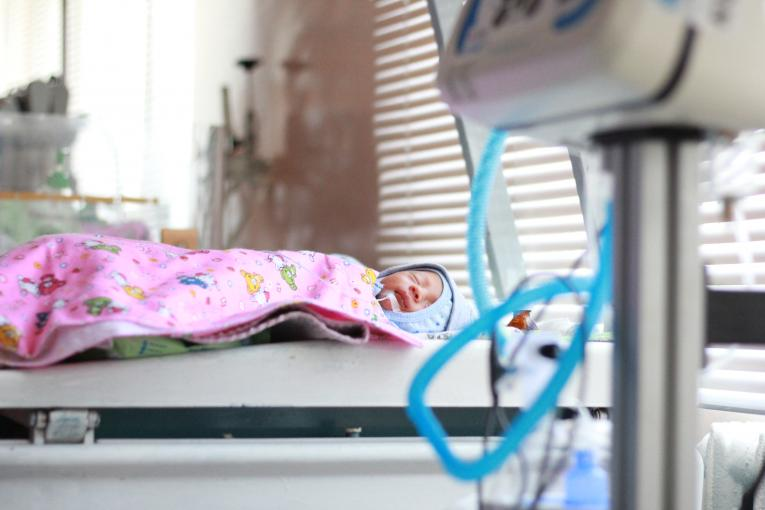 The maternity house in Osh received life-saving equipment for children