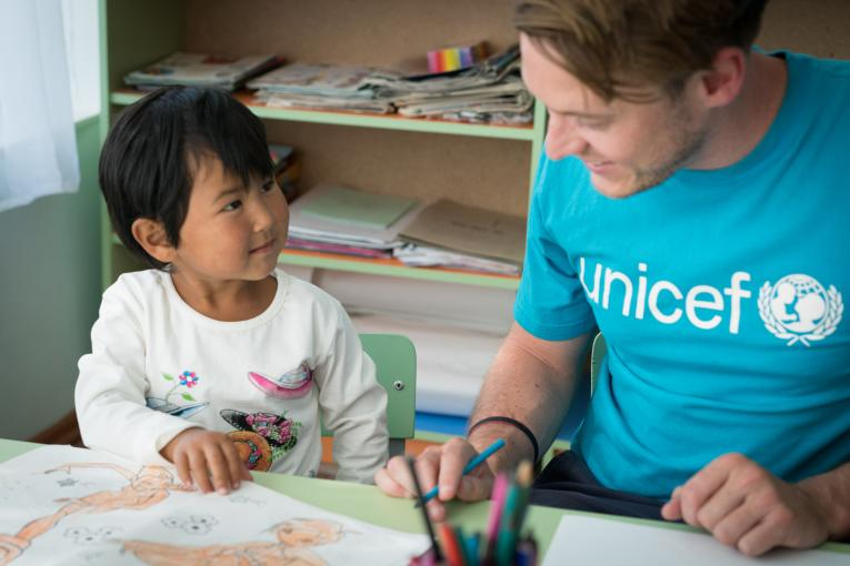 UNICEF works for every child and reaches the most remote areas